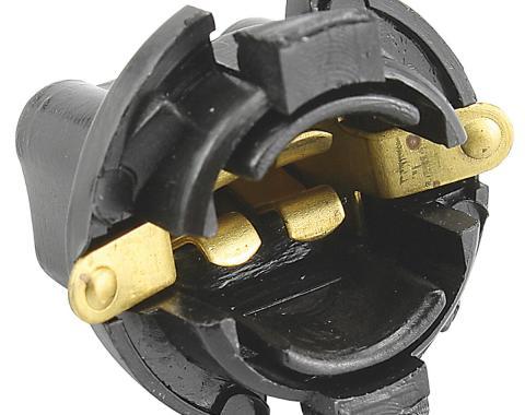 Corvette Gauge Cluster Bulb Socket, 1/2 Inch, 1968-1982