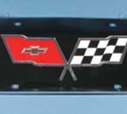 Corvette License Plate Housing Bubble, Front, Contour, 1991-1996