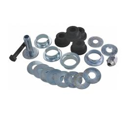 Corvette Trailing Arm Bushing Kit, With Outer Sleeves, Front, Polyurethane, 1963-1982