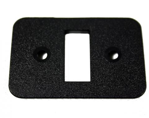 Corvette Seat Back Release Bezel, Black,1994-1996