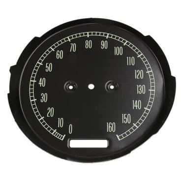 Corvette Speedometer Face, 1965-1967