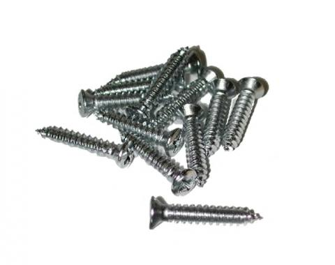 Corvette Sill Plate Screws, Late 1964-1967