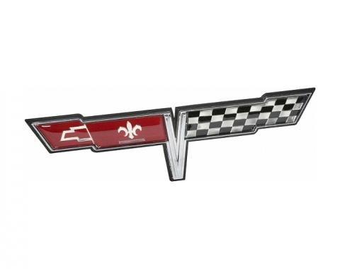 Corvette Gas Door Emblem, 1980