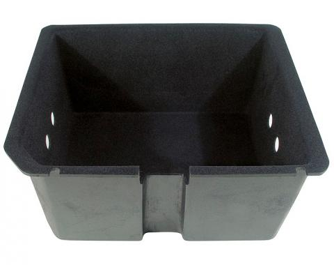 Corvette Compartment Jack Tray, Plastic, Right Rear, 1968-1979 Early