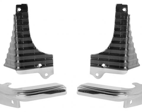 Chevelle & El Camino Grille Extension Molding Kit, 1968