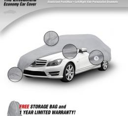 """Elite Shield™ Car Cover, Gray (Size 4), fits Cars up to 197"""" or 16' 5"""""""