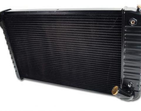 Corvette Radiator, Small Block 26 Inch Core, 1969-1972