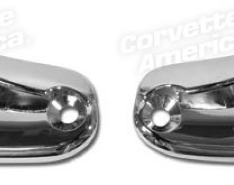 Corvette Latch Plates, Soft Top/Hardtop Header, 1963-1967