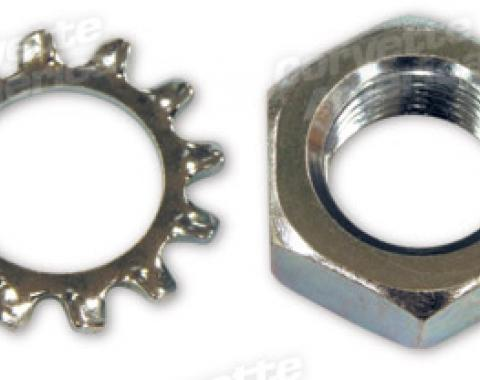 Corvette Hood Release Cable Assembly Retainer Nut, 1958-1962
