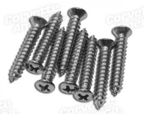 Corvette Sill Plate Screw Set, 8 Piece, 1978-1982