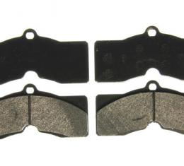 Corvette Brake Pads, Front or Rear, Semi-Metallic, 1965-1982
