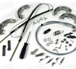 Corvette Park Brake Rebuild Kit, Stainless Steel, 1965-1966