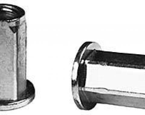 Power Steering Crush Nut, Round Head, Rivet Type