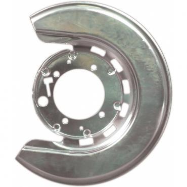 Corvette Brake Caliper Shield, Right, Rear, 1965-1975