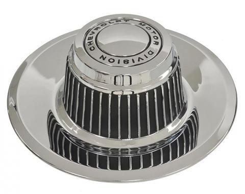 Corvette Rally Wheel Hubcap, OEM, 1968-1982