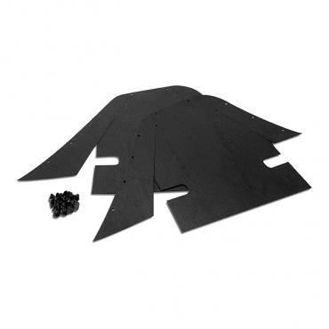 Corvette Inner Skirt Dust Shields, 1969-1982