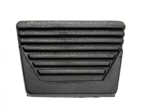 Corvette Brake or Clutch Pedal Cover, Non-Power Brake, 1963-1967