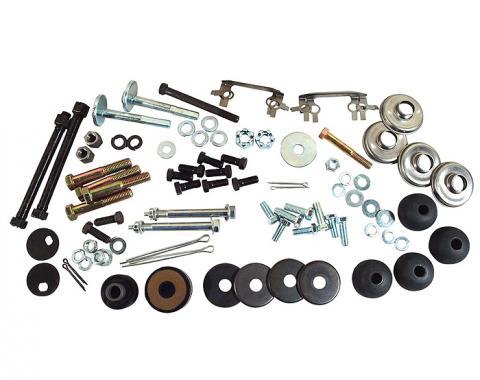 Corvette Rear Suspension Hardware Kit, 1963-1964