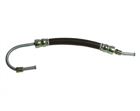 Corvette Power Steering Hose, Cylinder Extend, Small Loop, 1963-1982