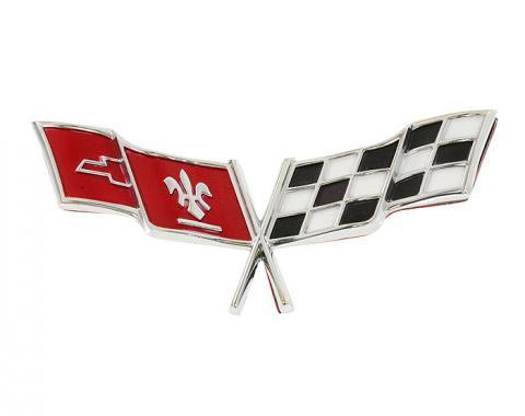 Corvette Emblem, Nose Except 1978, 1977-1979