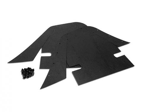 Corvette Inner Skirt Dust Shields, 1969-1982