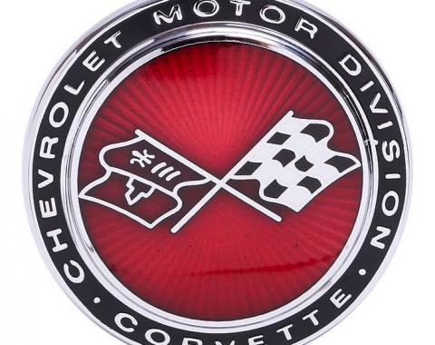 Trim Parts 73-74 Corvette Front Emblem, Each 5960