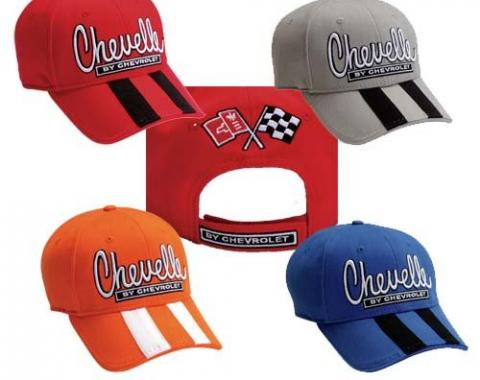 Chevelle Cap, With Rally Stripes