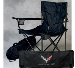 Corvette Folding Arm Chair, With C7 Emblem