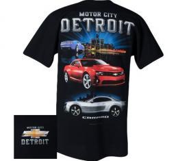 Camaro T-Shirt, Motor City Detroit