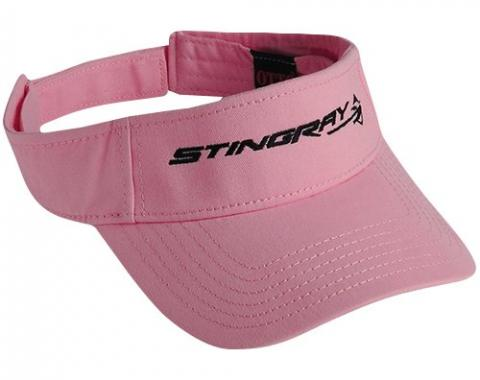Corvette C7 Ladies Stingray Visor, Pink