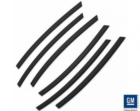 DefenderWorx Camaro Side Vents Black For 10-15 Camaro CB-1008