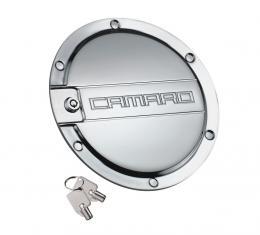 DefenderWorx Camaro Locking Fuel Door Chrome 10-15 Camaro CC-1006