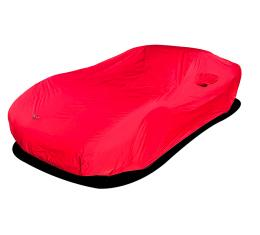 Corvette Car Cover, Stormshield Red with C5 Logo, 1997-2004