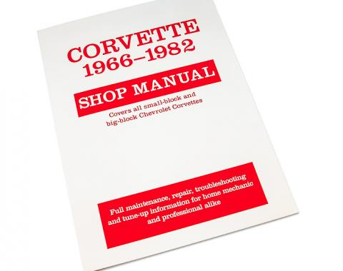 Corvette Shop Manual, 1966-1982