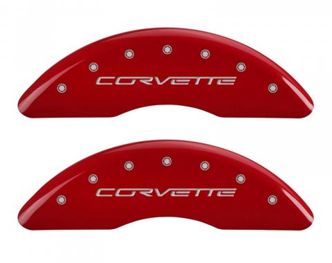 Red Caliper Covers for Chevrolet Corvette
