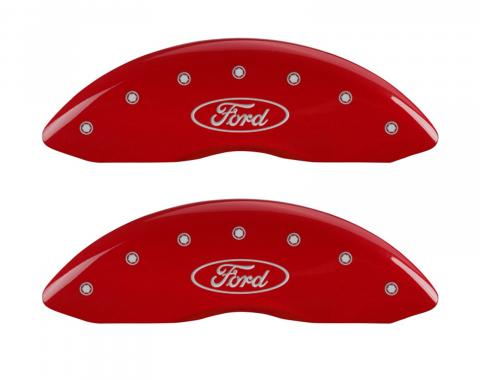 Red Caliper Covers for Ford F-150