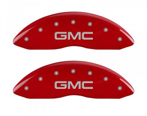 Red Caliper Covers for Gmc Sierra 1500