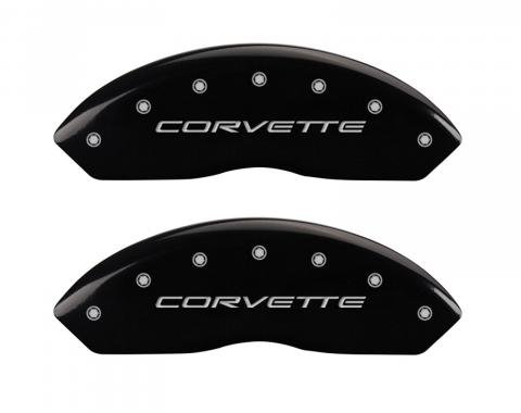 Black Caliper Covers for Chevrolet Corvette