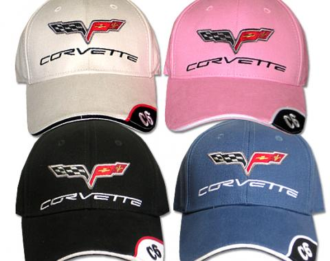 Corvette Cap, with C6 Emblem & Script