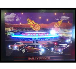 Neonetics Neon/led Pictures, Haileys Diner Neon/led Picture
