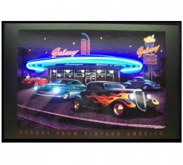 Neonetics Neon/led Pictures, Galaxy Diner Neon/led Picture