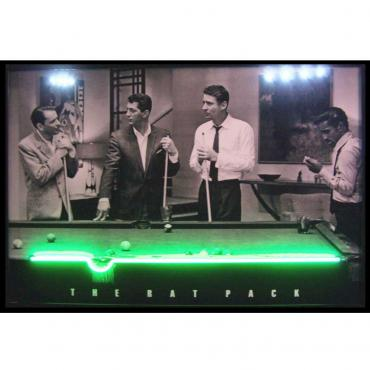 Neonetics Neon/led Pictures, Rat Pack Neon/led Picture