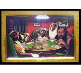 Neonetics Neon/led Pictures, Dogs Playing Poker Neon/led Picture