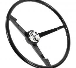 ACP Steering Wheel 3-Spoke Black FM-ES008