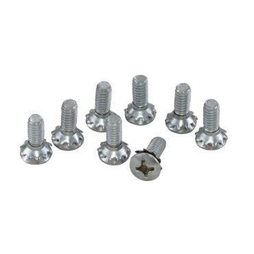 Corvette Convertible Front Header Lock Screws, 1956-1967
