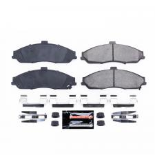 Corvette Brake Pad Kit, Z23 Evolution Sport Carbon Fiber-Ceramic with Hardware, Front, 1997-2013