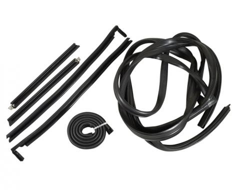 Corvette Weatherstrip Kit, Hardtop 6 Piece, 1956-1962