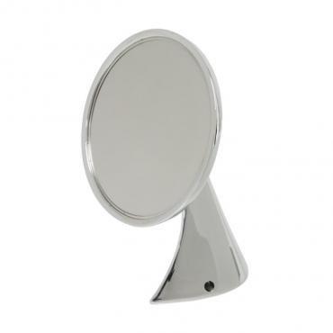 Corvette Mirror, Outside, Chrome, 1953-1967