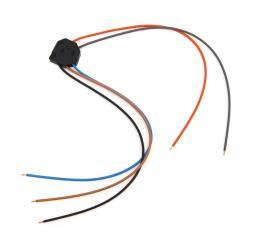 Corvette Power Door Lock Switch Repair Wiring Harness, Left, 1978-1982