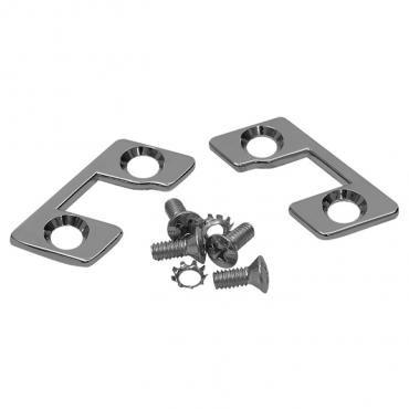 Trim Parts 56-62 Corvette Convertible or Hardtop Latch Plate, Pair 5244